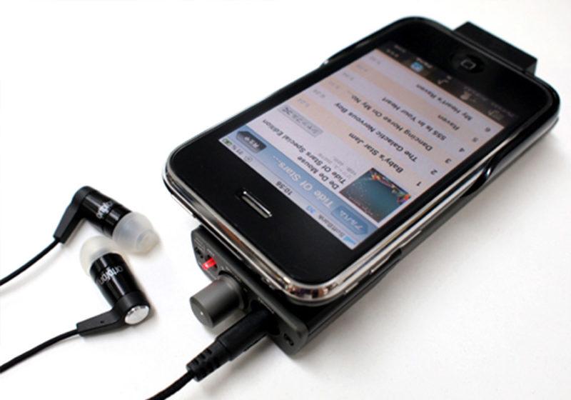 ポータブルヘッドフォンアンプ